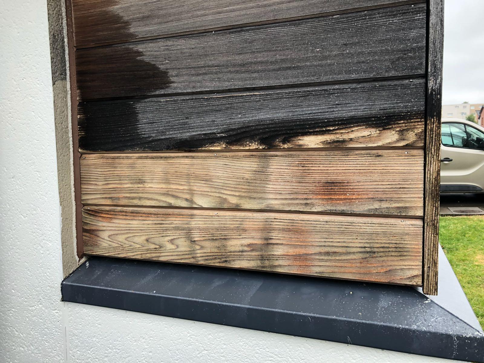 Czyszczenie frontu drewnianego